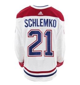 Club De Hockey CHANDAIL PORTÉ 2017-2018 #21 DAVID SCHLEMKO SÉRIE 2 √Ä L'ÉTRANGER