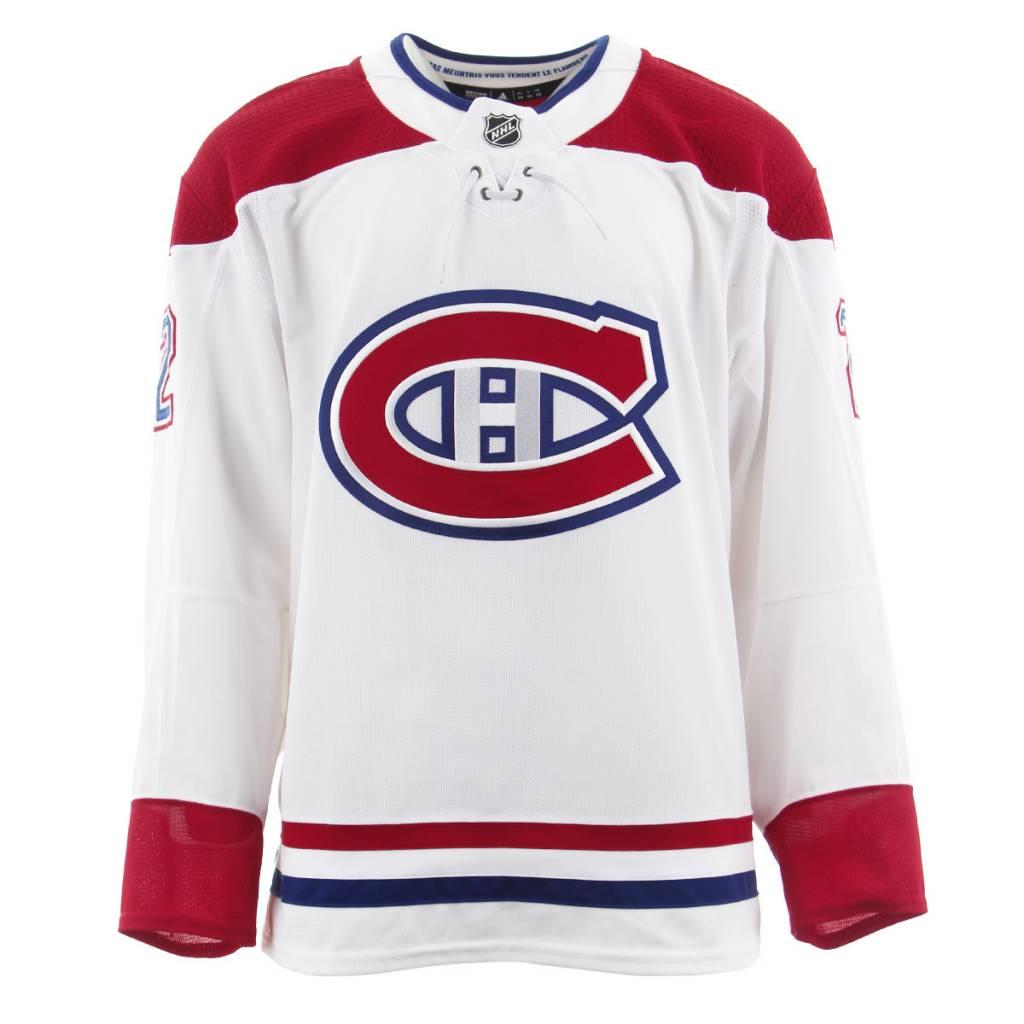 Club De Hockey CHANDAIL PORTÉ 2017-2018 #22 KARL ALZNER SÉRIE 3 √Ä L'ÉTRANGER