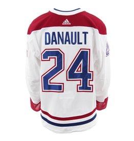 Club De Hockey 2017-2018 #24 PHILLIP DANAULT AWAY SET  GAME-USED JERSEY