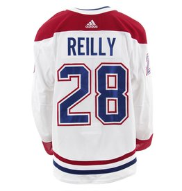 Club De Hockey 2017-2018 #28 MIKE REILLY AWAY SET 3 GAME-USED JERSEY