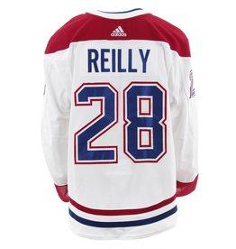 Club De Hockey CHANDAIL PORTÉ 2017-2018 #28 MIKE REILLY SÉRIE 3 À L'ÉTRANGER