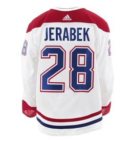 Club De Hockey 2017-2018 #28 JAKUB JERABEK AWAY SET 1 GAME-USED JERSEY (GAME-ISSUED)