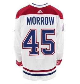Club De Hockey 2017-2018 #45 JOE MORROW AWAY SET 3 GAME-USED JERSEY (GAME-ISSUED)