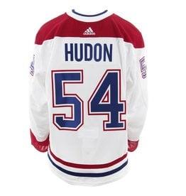 Club De Hockey CHANDAIL PORTÉ 2017-2018 #54 CHARLES HUDON SÉRIE 2 À L'ÉTRANGER