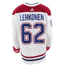 Club De Hockey 2017-2018 #62 ARTTURI LEHKONEN AWAY SET 2 GMAE-USED JERSEY
