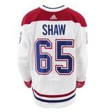 Club De Hockey CHANDAIL PORTÉ 2017-2018 #65 ANDREW SHAW SÉRIE 2 À L'ÉTRANGER
