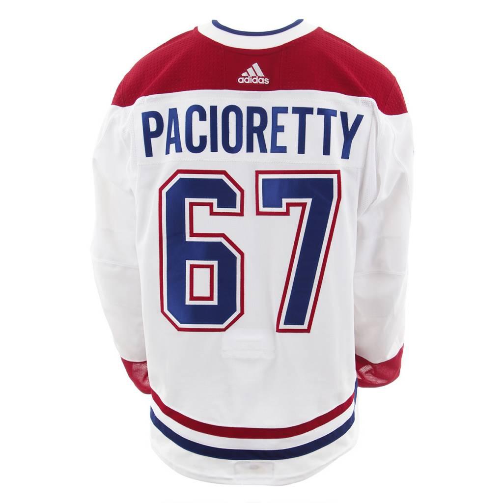 Club De Hockey 2017-2018 #67 MAX PACIORETTY AWAY SET 2 GAME-USED JERSEY