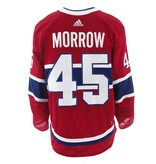Club De Hockey 2017-2018 #45 JOE MORROW HOME SET 2 GAME-USED JERSEY
