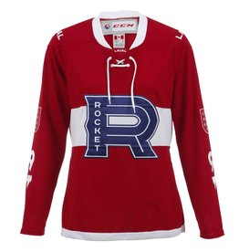 CCM REPLICA WOMEN'S RED ROCKET JERSEY