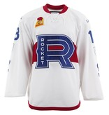 Club De Hockey 2017-2018 #18 WHITE GAME-USED JERSEY