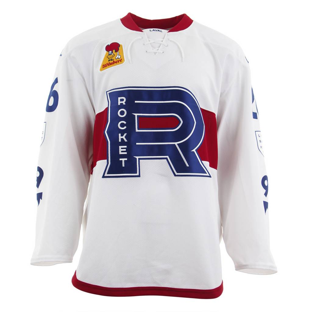 Club De Hockey 2017-2018 #26 WHITE GAME-USED JERSEY