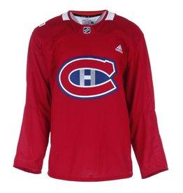 Club De Hockey CHANDAIL ROUGE DE PRATIQUE DE LA CLASSIQUE 100 DE LA LNH 58+