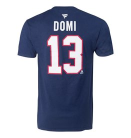 Fanatics MAX DOMI #13 BLUE FANATICS PLAYER T-SHIRT