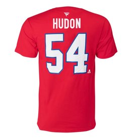 Fanatics CHARLES HUDON #54 RED FANATICS PLAYER T-SHIRT