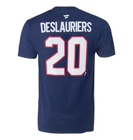 Fanatics NICOLAS DESLAURIERS #20 BLUE FANATICS PLAYER T-SHIRT