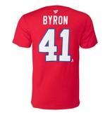 Fanatics PAUL BYRON #41 RED FANATICS PLAYER T-SHIRT