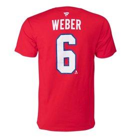 Fanatics SHEA WEBER #6 PLAYER T-SHIRT