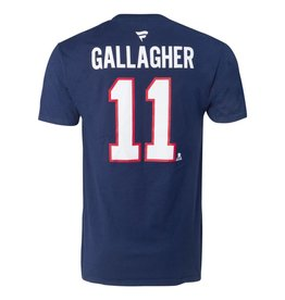 Fanatics BRENDAN GALLAGHER #11 BLUE FANATICS PLAYER T-SHIRT