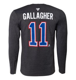 Fanatics BRENDAN GALLAGHER #11 PLAYER LONG SLEEVE