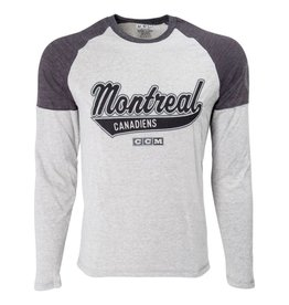 CCM VINTAGE BASEBALL LONG SLEEVE