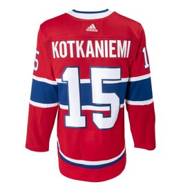 Adidas JESPERI KOTKANIEMI #15 AUTHENTIC PRO HEAT SEAL JERSEY