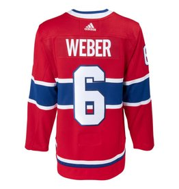 Adidas SHEA WEBER #6 AUTHENTIC PRO HEAT SEAL JERSEY