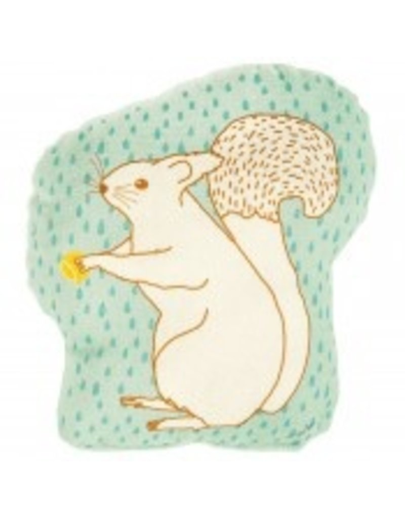 Mimi Lou Mimi Lou Squirrel stuffed pillow