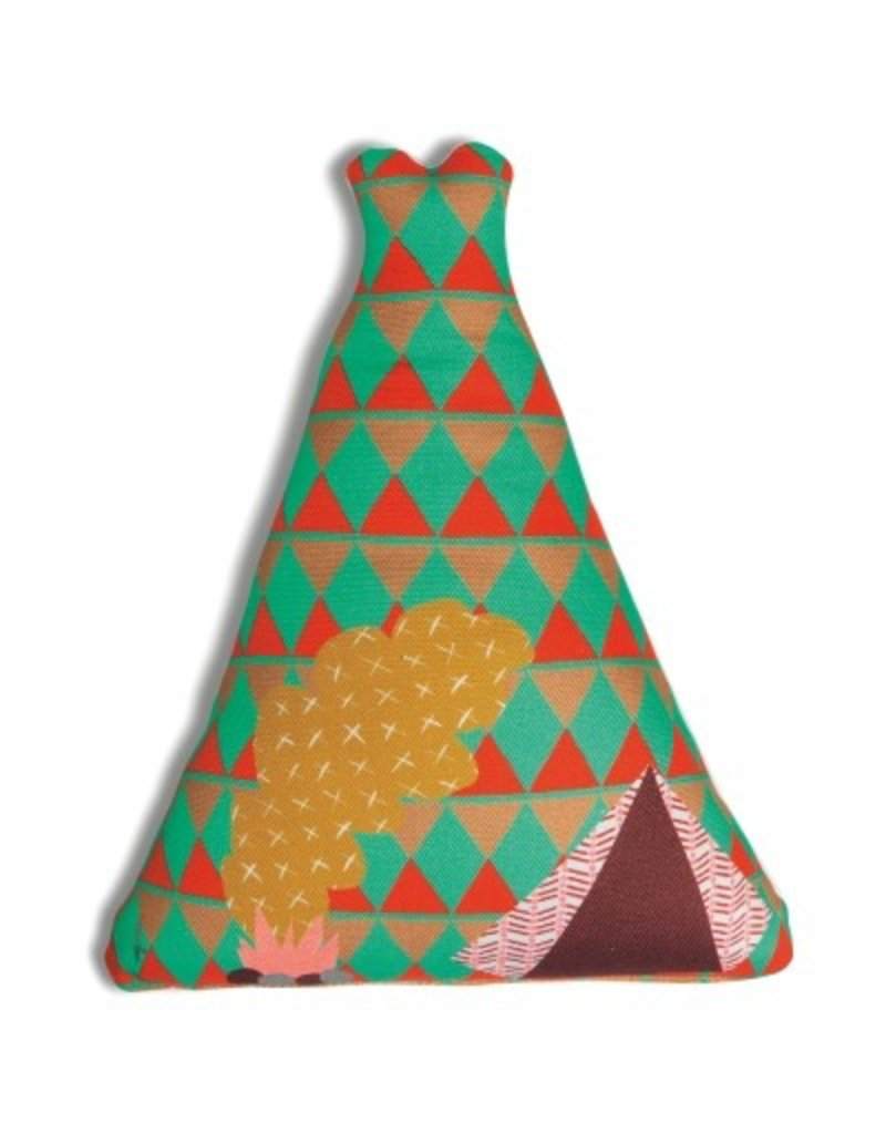 Mimi Lou Mimi Lou Teepee Stuffed pillow
