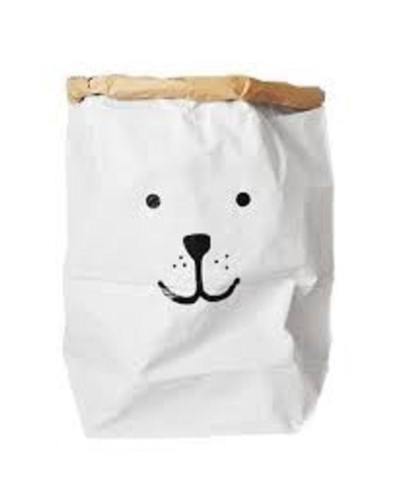 Tell Kiddo Tell Kiddo Paper Bag Bear Black