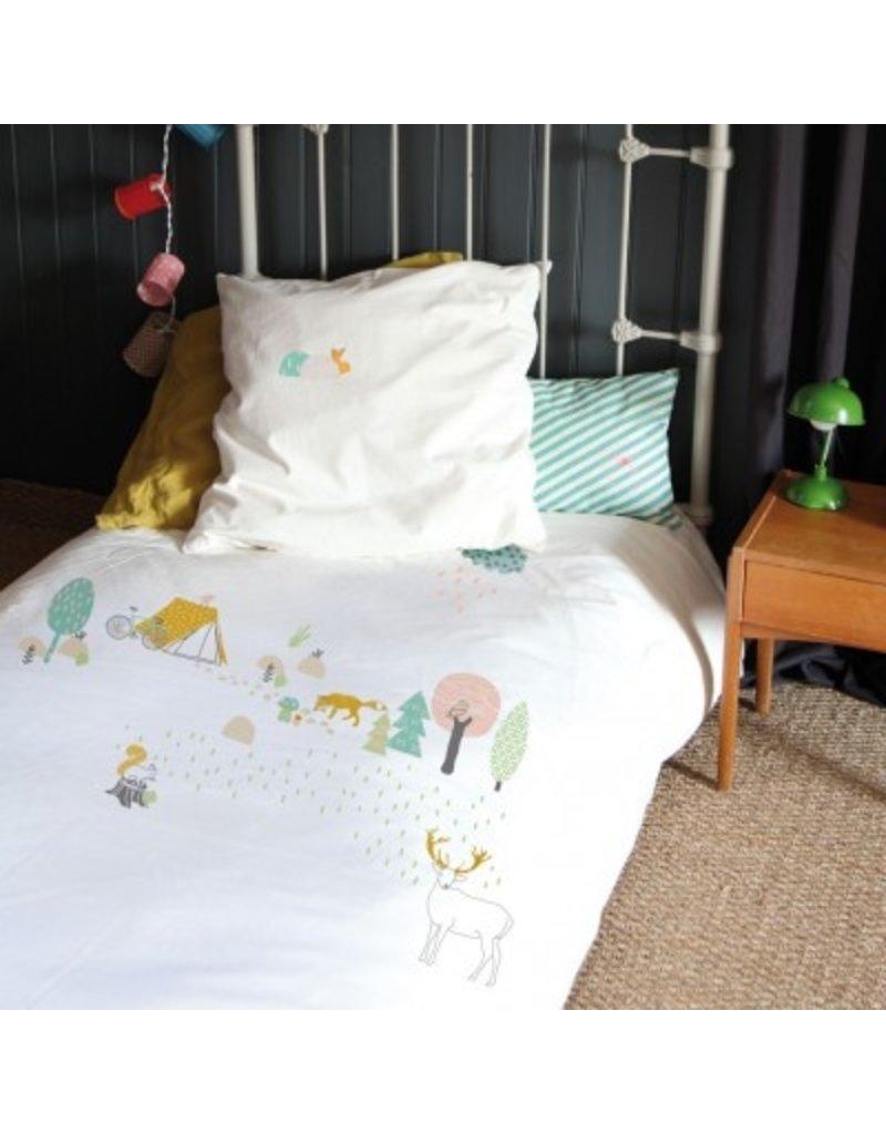 Mimi Lou Mimi Lou Wood Bed linen