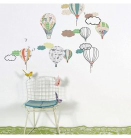 Mimi Lou Mimi Lou Hot Air Balloons Bed Linen