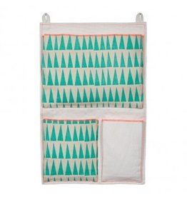 Mimi Lou Mimi Lou Triangles Wall Pouch