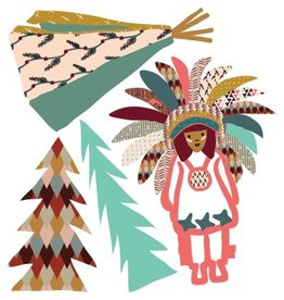 Mimi Lou Mimi Lou Indian mini stickers