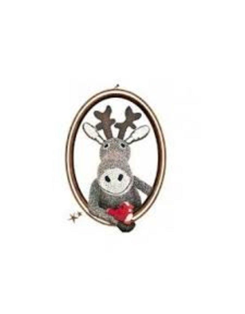 Mimi Lou Mimi Lou Reindeer Frame Sticker
