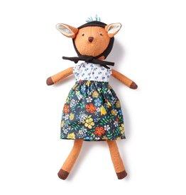Hazel Village Hazel Village Pheobe Fawn In Cornflower Blouse Outfit