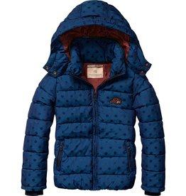 Scotch Rbelle Scotch RBelle Jacquard Jacket with Polkadots