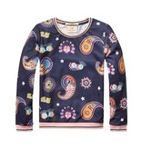 Scotch Rbelle Scotch RBelle Printed Paisley Sweater