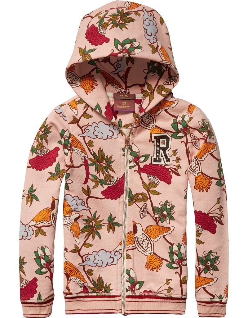 Scotch Rbelle Scotch RBelle All over print Hoody