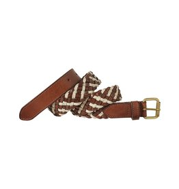 Scotch Shrunk Shrunk Braided Belt In Various Styling