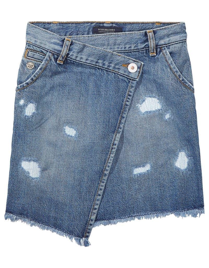 Scotch Rbelle Scotch RBelle Seasonal Wrap Skirt
