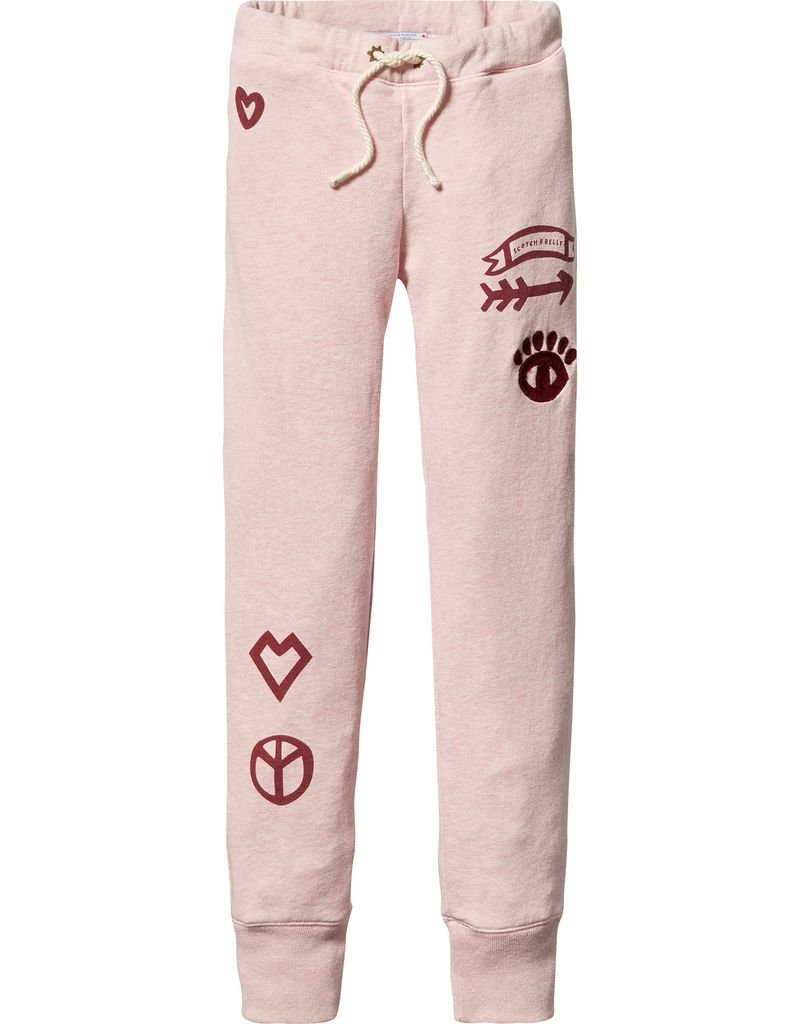Scotch Rbelle Scotch RBelle Sweat Pants with embroidery