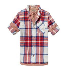 Scotch Shrunk Scotch Shrunk Faux double layer shirt