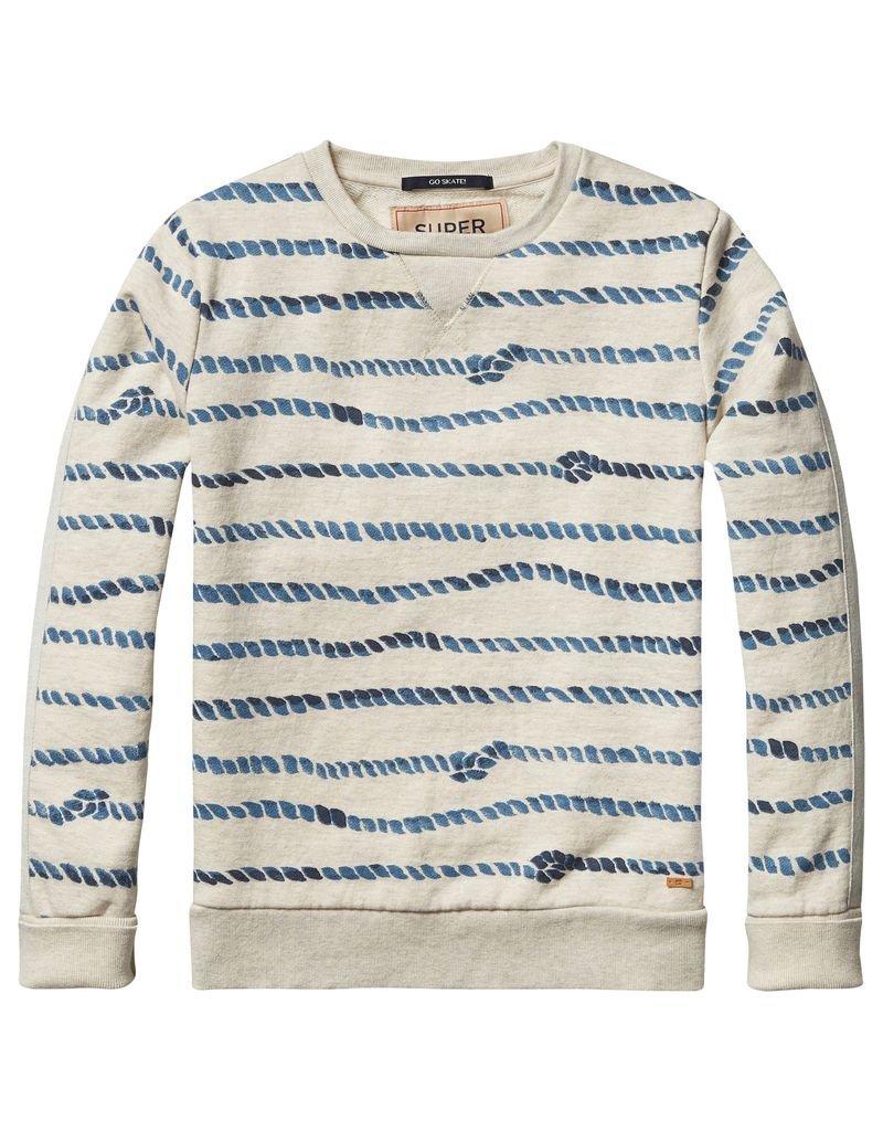 Scotch Shrunk Scotch Shrunk All over print crew sweater
