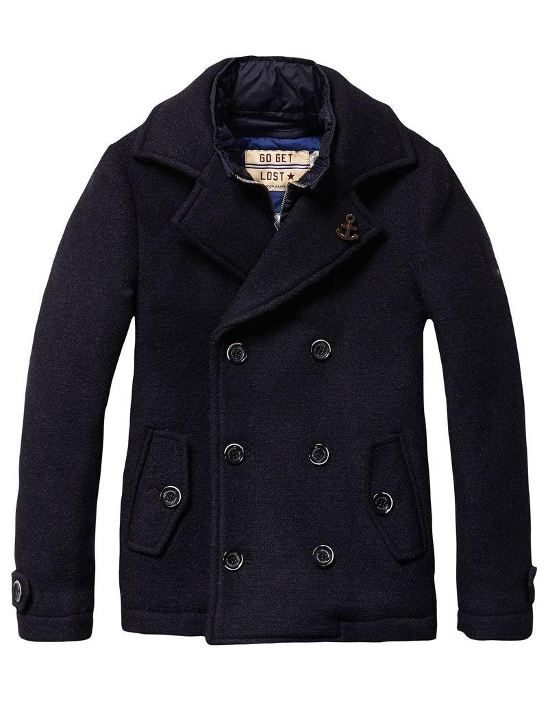 Scotch Shrunk Scotch Shrunk Woollen Caban Jacket