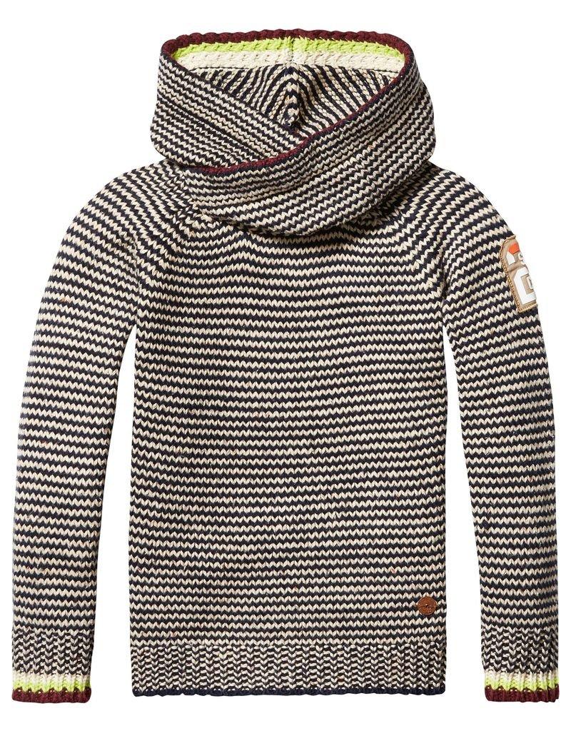 Scotch Shrunk Scotch Shrunk Hooded pullover