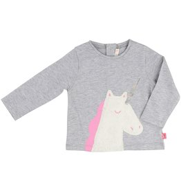 Billie Blush Billie Blush Jersey tee shirt, with unicorn