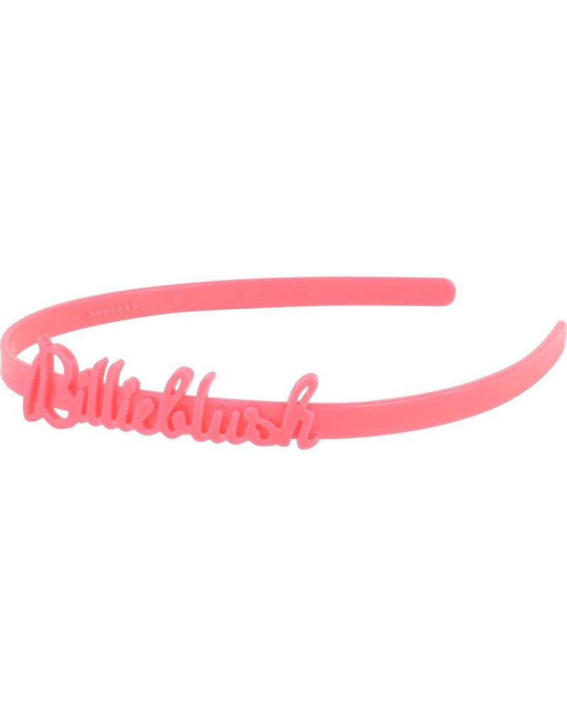 Billie Blush Billie Blush Headband with Billieblush logo