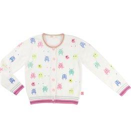 Billie Blush Billie Blush Knitted cardigan with prints