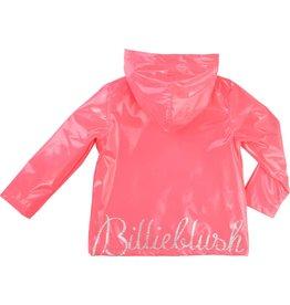 Billie Blush Billie Blush Raincoat PU with hood