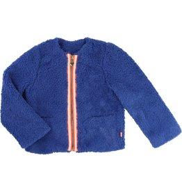 Billie Blush Billie Blush Faux Fur coat, zip fastener with fluorescent braid